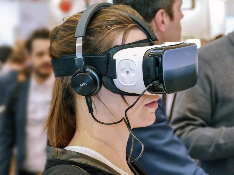 Eine Virtual Reality Brille
